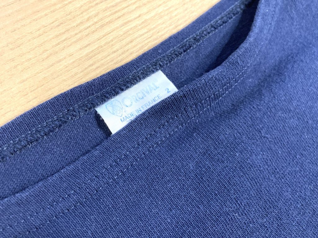 オーシバル バスクシャツ タグ